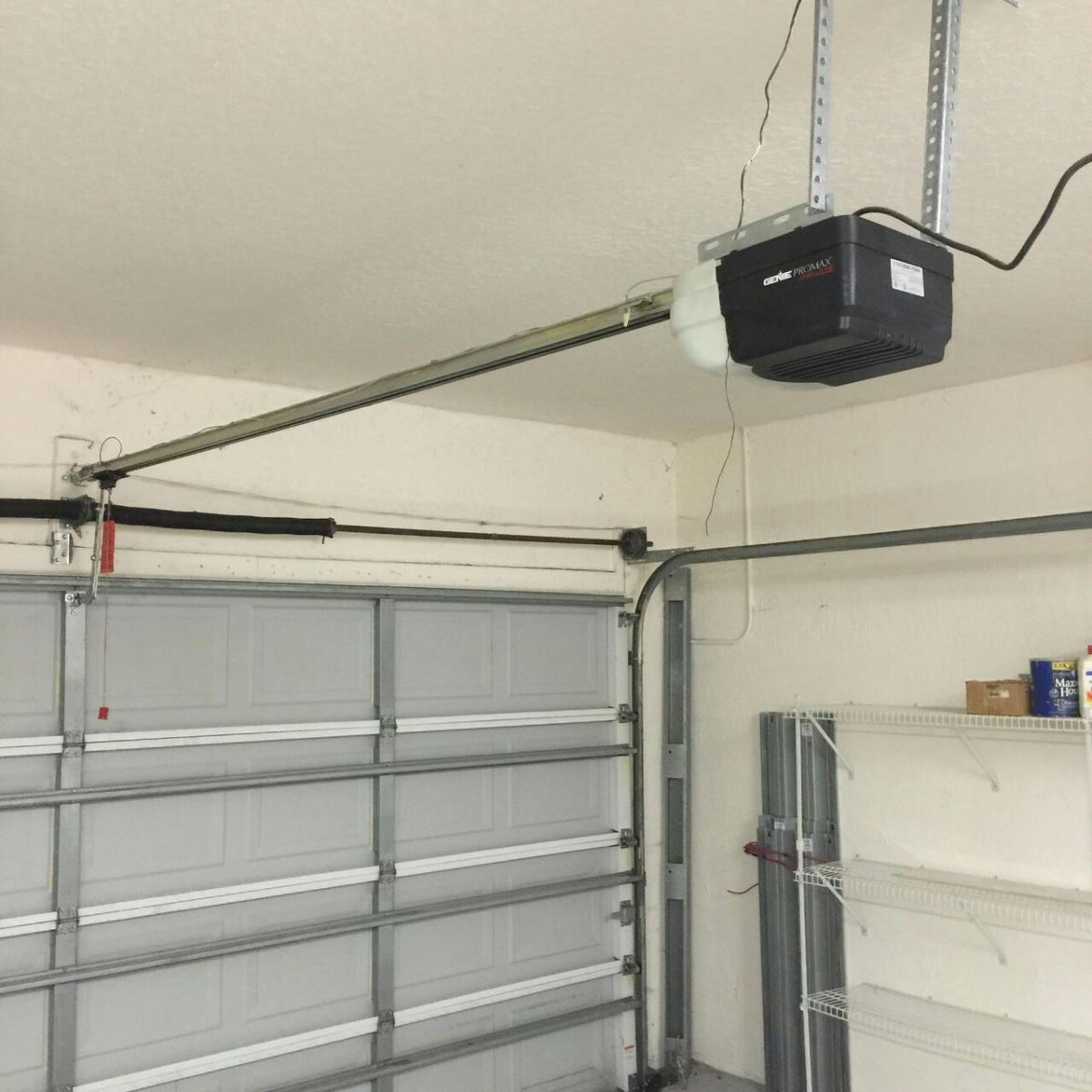 Average cost of garage door installation cost to install for How much does a garage door repair cost